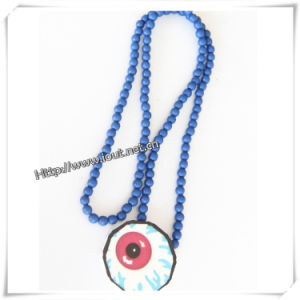 Yiwu Jewelry Factory Wholesale Necklace Wood Pendant (IO-wn007) pictures & photos