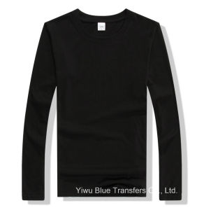 Men′s Long Sleeve T-Shirts in Black pictures & photos