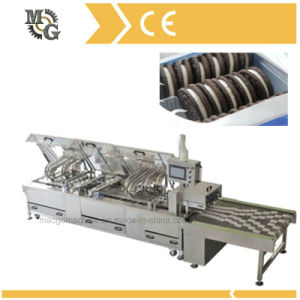 Double Lane Biscuit Sandwiching Machine pictures & photos