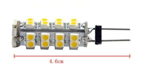 3528 G4 T10 Ba9s 10-30V White LED Auto Lamp pictures & photos