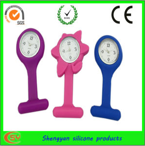 Silicone Nurses Pin Watch (SY-GB-102)