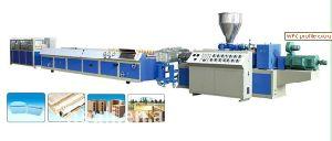 PE/PP WPC Profile Extrusion Machine pictures & photos