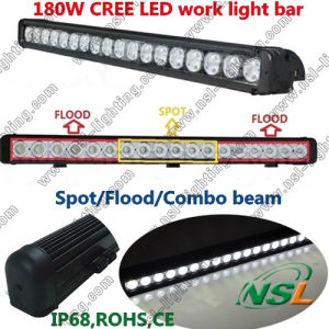 30inch 180W LED Light Bar Spot 4X4 Offroad 4WD LED Truck Light Boat Ute Car Lamp Nsl-18018c-180W pictures & photos