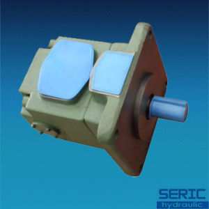 Double Hydraulic Oil Vane Pump PV2r14 Series pictures & photos