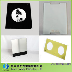 Toughened Low Iron Printing Glass for Kitchen Room pictures & photos