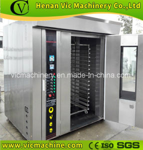 100kg/h bakery rotary diesel oven price with CE certification pictures & photos