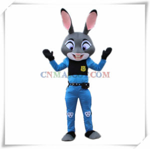 Lady Cop Rabbit Judy Mascot Costume Zootopia Cartoon Mascot pictures & photos