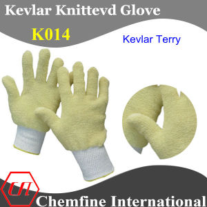 Kevlar Knitted Terry Glove, K/W pictures & photos