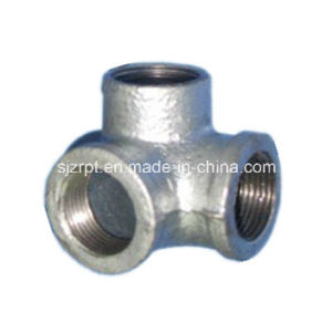 Galvanized Side Outlet Elbows Malleable Iron Pipe Fittings pictures & photos