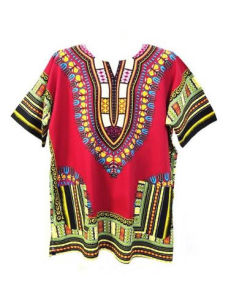 African Clothing Shirt Wholesale Custom Cheap Unisex Tops Dashiki Shirt pictures & photos