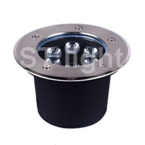 6W High Power Outdoor Waterproof White LED Underground Light