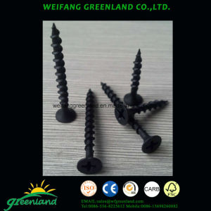 Hihg Quality Drywall Screws, Black Phosphated Finish pictures & photos