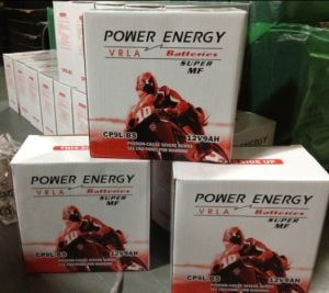 Powerenergy Sealed Lead Acid Maitenance Free Motorcycle Battery (CP9L-BS) pictures & photos