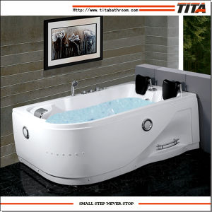 2016 Acrylic Double Whirlpool Bathtubs Tmb052 pictures & photos