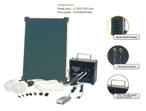6W Solar Portable Lighting System