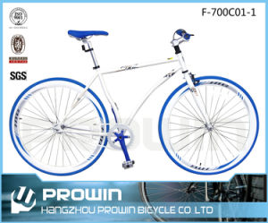 China 700c Steel Frame Fixed Gear Bike (F-700C01)