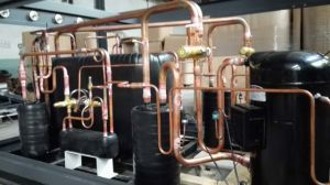 Commercial Use 100kw 28-32 Degree Air Source Swim Pool Heat Pump pictures & photos