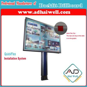 Quick Flex Tensioning Clip System for Backlit Outdoor Billboard pictures & photos