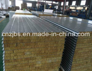 Composited Rock Wool Wall Sandwich Panel pictures & photos