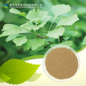 Ginkgo Biloba Extract/Ginkgolides and Flavone pictures & photos