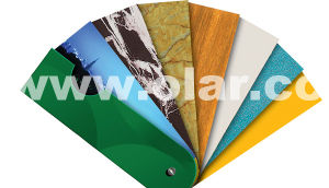 Fiber Cement Board--Decorative UV & Fluorocarbon Surface pictures & photos