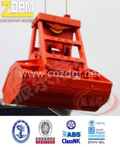 8-12 M3 Hydraulic Radio Remote Control Grab with Leaking Proof Function pictures & photos