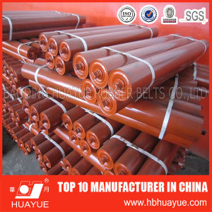 Quality Assured Red Color Rubber Conveyor Belt Roller Conveyor Belt System Huayue pictures & photos