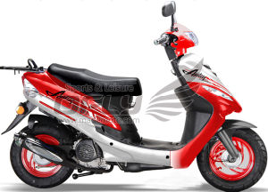 EPA Approved 50CC Gas Motor Scooter (YY50QT-6B(2T)) pictures & photos
