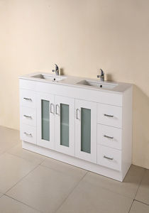 Hot Painting MDF Bathroom Cabinet with Certificate (SW-F1500KG) pictures & photos