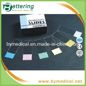 7109 Coloured Frosted Ground Edges Microscope Slide pictures & photos