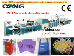 2016 Full Automatic Non Woven Fabric Handle Bag Machine Price (ONL-B) pictures & photos