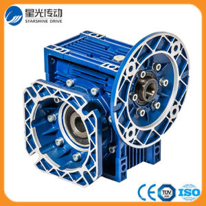 Cast Iron Body Worm Speed Reducer Gearbox with Explosion-Proof Motor pictures & photos