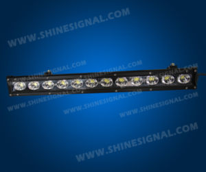 60W Single Row LED Light Bar Used on The off Road Vehicle pictures & photos