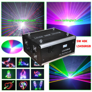 5W Outdoor RGB Animation Writing Laser Light pictures & photos