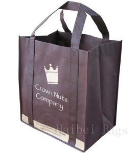 Brown Heavy Duty Shopping Bag (hbnb-503) pictures & photos