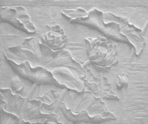 Outdoor Large Gfrc Relief for Decoration