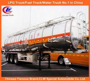 42000L Heavy Duty 3 Axle Aluminum Fuel Tank Semi Trailer pictures & photos