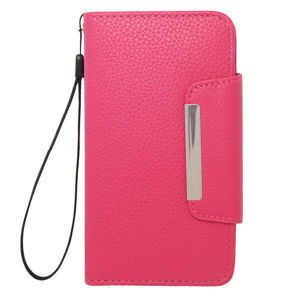 PU Leather Mobile Case for Samsung Mobile Phone, Stand Wallet Leather Case pictures & photos