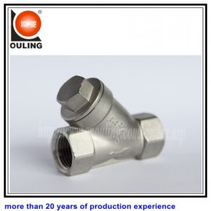 Stainless Steel Y-Strainer (ouling-042)