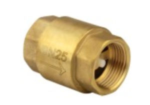 Aperture Threaded Brass Vertical Lift Check Valve Copper Te-63 pictures & photos