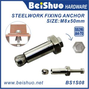 M8 Stainless Steel Boxbolt Anchor Bolt for Blind Steelwork Fitting pictures & photos