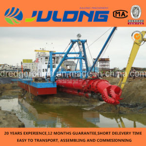 2015 New 8′′-20′′ Julong Hydraulic Cutter Suction Dredger for Sale