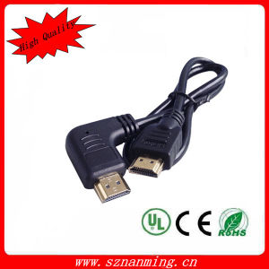 High Speed 1080P Right Angle HDMI Cable pictures & photos