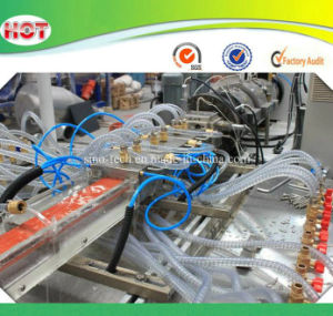 Plastic Window Sliding Frame/Fixing Frame/Glass Bead Profiles Production Line/Extrusion Line pictures & photos