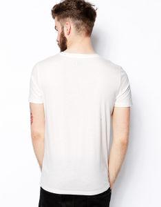 100% Cotton Men′s Short Sleeve Round Neck T Shirt Wholesale pictures & photos