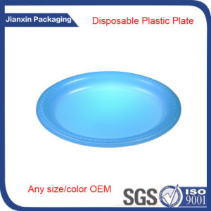 Disposable Plastic Round Plate for Party pictures & photos