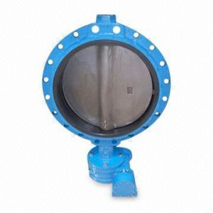 Ductile Iron Butterfly Valve Worm Gear pictures & photos