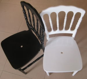 White Resin PC Napoleon Chair (HDRN-01) pictures & photos