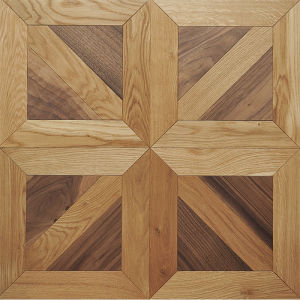 Oak Mosaic Parquet Engineered Wood Flooring pictures & photos
