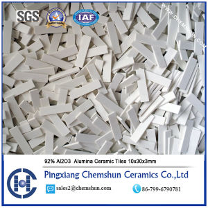 92% High Quality Alumina Ceramic Lining Tile Suppliers and Manufacturers pictures & photos